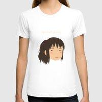 chihiro T-shirts featuring Spirited Away Chihiro by bonieiji