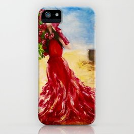 Rose of the Karoo by M.Viljoen iPhone Case