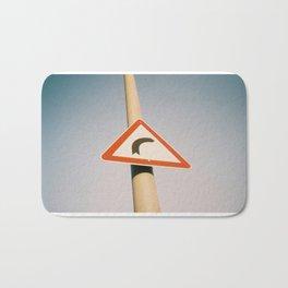 Street Sign Bath Mat