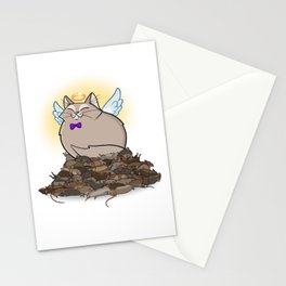 Angel Of Death Stationery Cards