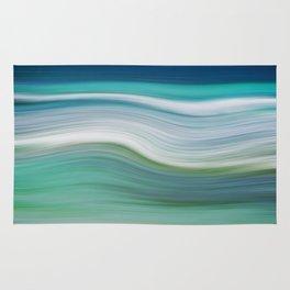 OCEAN ABSTRACT Rug