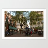 Best table in the city Art Print