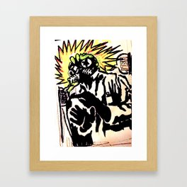 The Shocking Framed Art Print