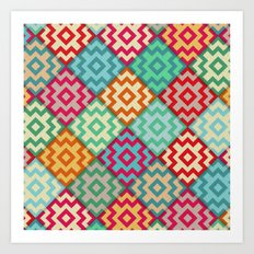Marrakech diagonal Art Print