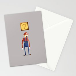 Pixel Plumber Stationery Cards