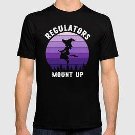 Halloween Regulators Mount Up Witches T-shirt