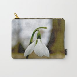 Moody Snowdrop Carry-All Pouch