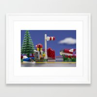 airplanes Framed Art Prints featuring Airplanes by Pedro Nogueira
