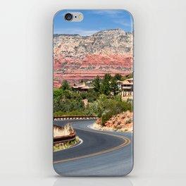Winding road in Sedona, Arizona iPhone Skin