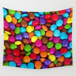 Candy Coated Chocolate Wall Tapestry