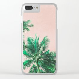 Tropical Vibes #4 Clear iPhone Case