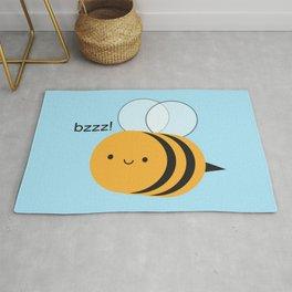 Kawaii Buzzy Bumble Bee Rug