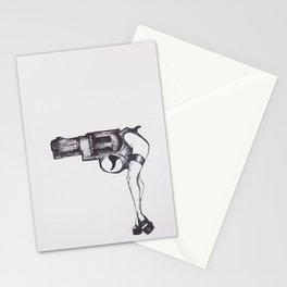 Shot Gun Pin Up Stationery Cards