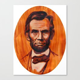 Lincoln Oval Canvas Print