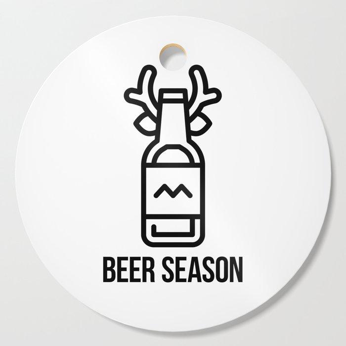 Beer Season Cutting Board
