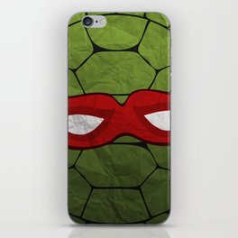 the red turtle iPhone Skin