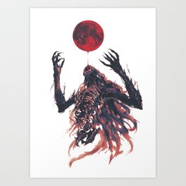 Beckon the Blood Moon Art Print