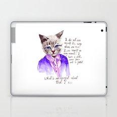 Fashion Mr. Cat Karl Lagerfeld and Chanel Laptop & iPad Skin