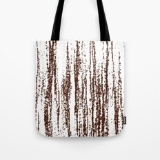 Birch Winter Sepia Tote Bag