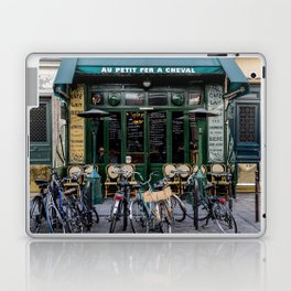 Paris Restaurant in the Marais Laptop & iPad Skin