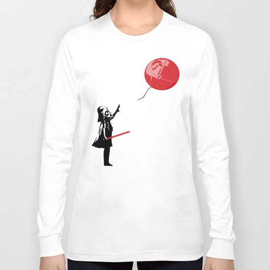 That's No Banksy Balloon (It's a Space Station) Long Sleeve T-shirt