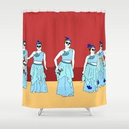 Naughty Nurses Shower Curtain