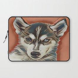 Alaskan Malamute Puppy Laptop Sleeve