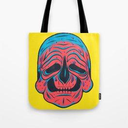 SLOPPY SKULL Tote Bag