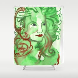 Queen of Everything Shower Curtain