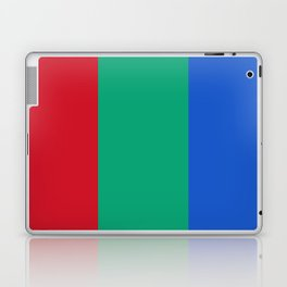 Flag of Mars - High quality authentic version Laptop & iPad Skin