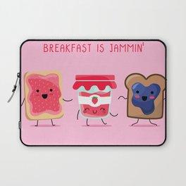 Breakfast Is Jammin' Laptop Sleeve