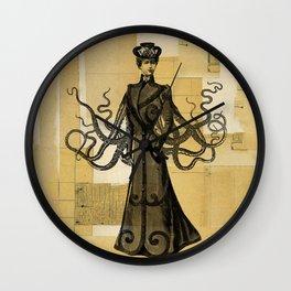 Madame Tentacle Wall Clock