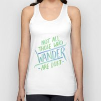 wander Tank Tops featuring Wander by IndigoEleven