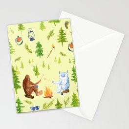 Annual Camping Trip Stationery Cards