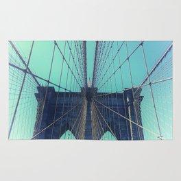 BROOKLYN BRIDGE - VINTAGE - FADED Rug