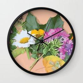 Annaliese's Nature Art Wall Clock