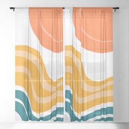 Sun Dunes 03 Sheer Curtain