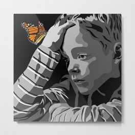 """God bless the child"" 102 Metal Print"