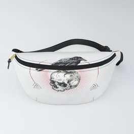 Valhalla Odin graphic Son of Odin raven - perfect gift Fanny Pack