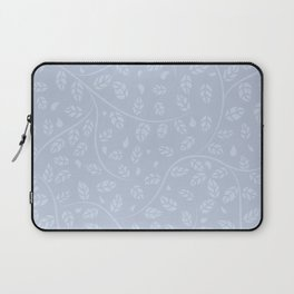 Lavender Vine and Leaf Organic Pattern Laptop Sleeve