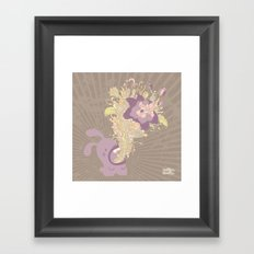 everything's coming out roses Framed Art Print