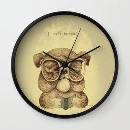 I ruff to read Wall Clock