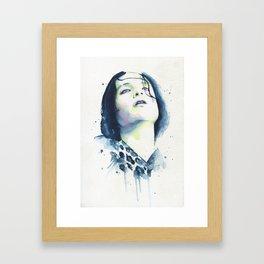 Brian Molko (Narcoleptic) Framed Art Print