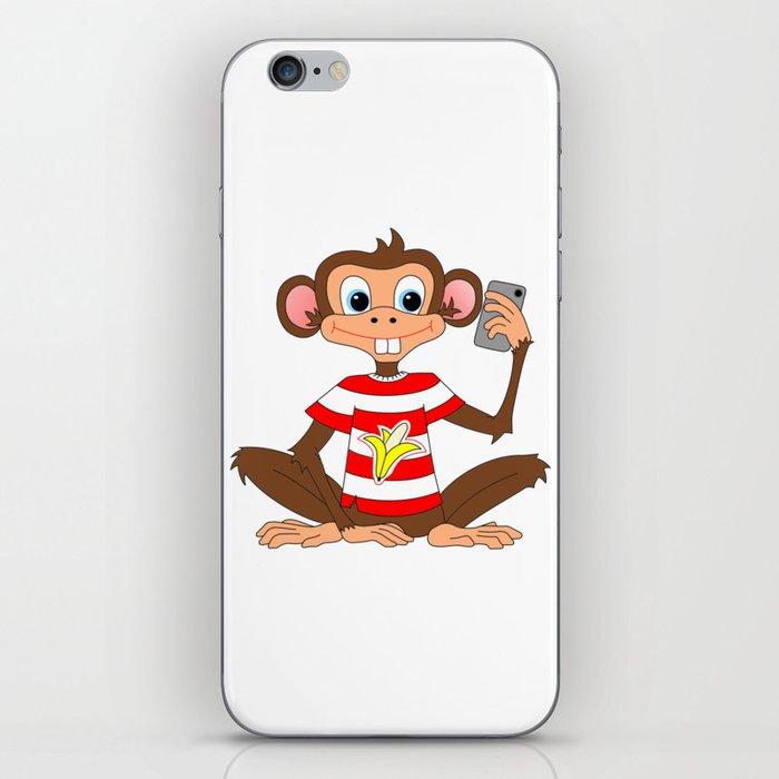 Camera Fone - Monkey iPhone Skin