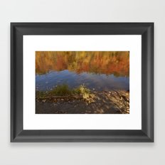 Colours in Mauricie - Canada Framed Art Print