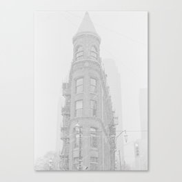 Snow in Toronto Canvas Print