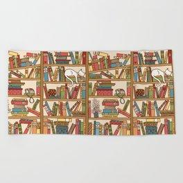 Bookshelf No. 1 Beach Towel