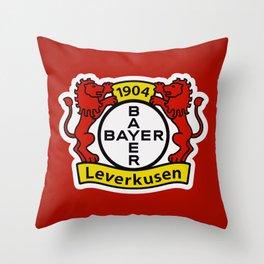 Bayer Leverkusen Throw Pillow