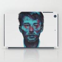 radiohead iPad Cases featuring Thom Yorke (Radiohead) by charlotvanh