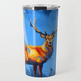 Deer in the Wilderness Travel Mug